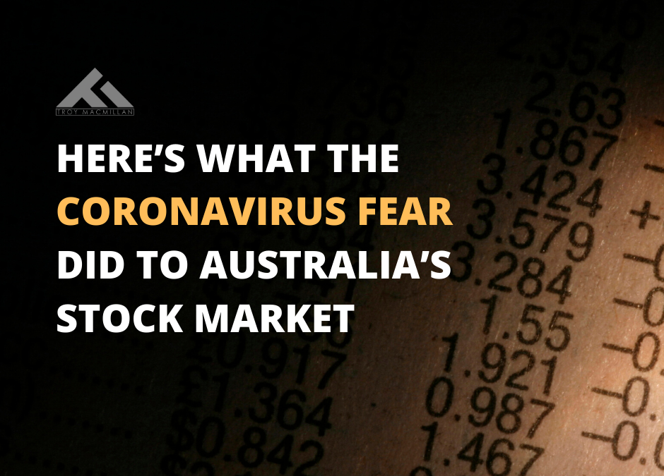 Here's What the Coronavirus Fear Did to Australia's Stock Market