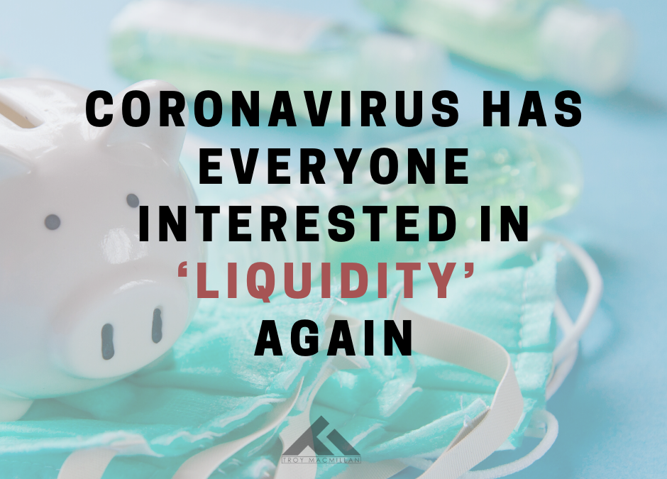 Coronavirus Has Everyone Interested in 'Liquidity' Again