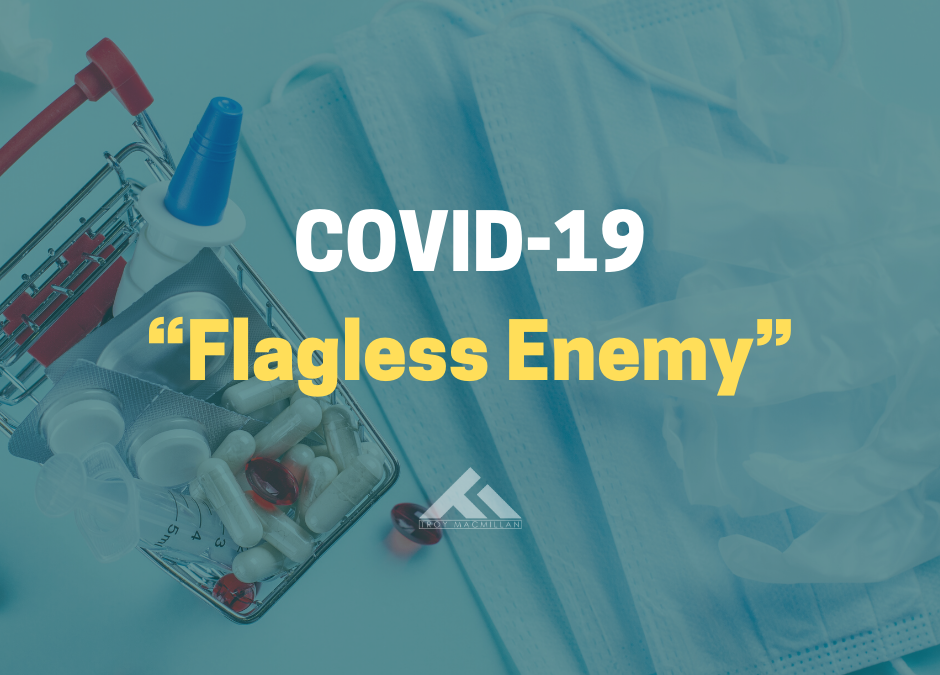 """Covid-19 and Australia: Fighting a """"Flagless Enemy"""""""