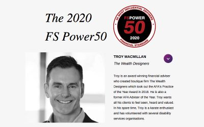 The 50 most influential financial advisers in Australia named